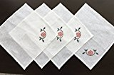 Natural Linen Napkins Set (4 pc) 35 x 35 cm (14