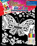 New Generation - Velvet Poster GO Alive Butterfly , Augmented Reality coloring 11x15 Velvet Poster - 2 PACK of Fuzzy Posters