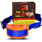No Bark Collar for Dog by Aiblii- Anti Shock Stop Barking Control Training Collars - 7 sensitivity Levels for Small and Large Dogs