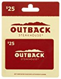 Outback Steakhouse Gift Card $25