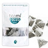 PREMIUM FOCUS TEA by Teami Blends - Best for Increasing Alertness, Mental Clarity, & Energy - With 100% All Natural Ingredients, Dairy and Soy Free, Non-GMO - Boost Metabolism - Support Your Brain!