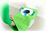 Pack 'n Potty Travel Potty Seat - Zigzag, an all-in-one solution for public restrooms (Zigzag)