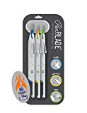 PenBlade - Stainless Steel Craft Knives - 3 Pack - Craft, Hobby, and Utility Knife with Retractable Blade for Safety - Includes Three Blade Sizes #10, #11A, and #15