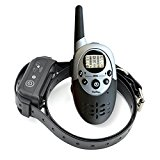 PetSpy 1100 Yards Remote Dog Training Shock Collar for Dogs with Beep, Vibration and Electric Shock, Rechargeable and Waterproof E-Collar Trainer