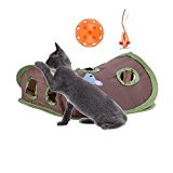 Petty Love House Pet Cat Mice Flexible Intelligence Play Toys for Cat Kitty WIth Ball and Mice