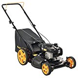 Poulan Pro 961320098 Poulan Pro 961320093 PR550N21RH3 Briggs 550ex Side Discharge/Mulch/Bag 3-in-1 Hi-Wheel Push Mower in 21-Inch Deck, 11-inch wheels