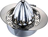 Pro Chef Kitchen Tools Stainless Steel Manual Citrus Juicer - 3 for 1 Adjustable Cup Style Hand Juice Press Extractor for Orchard Fresh Squeezed Lime, Lemon, Orange, Grapefruit Juices