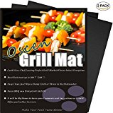 Professional Grill Mat - Set of 2 Non-stick BBQ Grill Mats - Heavy Duty , Durable and Easy to Clean-13x16inch
