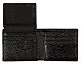 RFID Blocking Stylish Genuine Pebbled Leather Wallet for Men, RFID Wallet