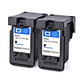 Remanufactured Canon PG-240 PG-240XL Black Ink Cartridges Compatible to MG3620 MG3520 MG4220 MG3220 MG2220 2 Pack