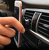 SHINEMU Universal Air Vent Car Phone Mount Magnetic Holder,Universal for iPhone 7/6/6s Plus, Samsung Galaxy S7/S7 Edge, S6/S6 Edge+ Galaxy Note 5 and ALL Other Smartphones and Tablets