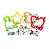 Sandwich Cutter for Kids - Best Stainless Steel Sandwich Cutter Set - 4 Shapes Suitable for Cakes and Cookie