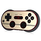 Smartlife 8Bitdo FC30 Pro Wireless Bluetooth Controller Gamepad Joystick for PC Mac Andriod IOS