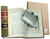 SneakyBooks Recycled Law Book Hidden Flask Diversion Safe (flask included)