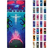 Soul Obsession Yoga Mat Microfiber Printed Design Psychedelic Higher Consciousness - Cosmic State