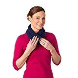 Sunny Bay Extra Long Heated Neck Wrap, Blue, 2.8 Pound