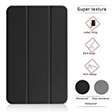 TIMISAM Samsung Galaxy Tab S3 9.7 Case - Ultra Lightweight Slim-shell Stand Folio Case Cover for Galaxy Tab S3 9.7 Inch Tablet (SM-T820/SM-825) (Black)