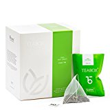 Teabox Mint Jubilee Green Tea 36 g | 1.27 oz 16 TeaPac Teabags, Freshest Tea from India, Delivered Garden Fresh Direct from source