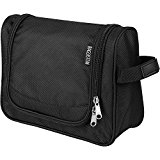 Toiletry Travel Bag Personal Organizer for Men or Women, Toiletries Bag Hanging, Medium Size, Black by Bagsistem