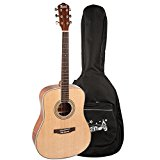 Trendy 41 inch Wood Acoustic Guitar with Spruce Top, Mahogany Back & Sides