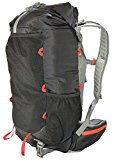 ULTRALIGHT 40L Hiking Black Backpack with Roll Top - Expands to 50L - Best Trekking Backpack For Men and Women