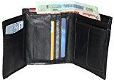 Ultra Soft (Sheep Leather & Handmade) Wallet for Men Top Quality Genuine Leather Bifold Wallet