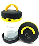 Unitedtime LED Lantern camping Lantern flashlight Collapsible Battery Operated Camping Gear lights (Yellow)