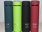 Water Bottle - Thermos Double Walled & Insulated Stainless Steel Coffee Mug - Keeps Drinks Hot/Cold For 12 hours - Fruit/Coffee/Tea Infuser- No BPA (black)