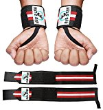 Weight lifting Wrist Wraps For Powerlifting, Bodybuilding, Weight Lifting For Men & Women - (Professional Quality) by RnS STAR (1 Pair)