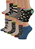Women's Low Cut Athletic Socks Pack of 6 for Performance and Running-Size 9-11