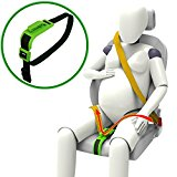 Zuwit Bump Belt, Maternity Car Seat Belt Adjuster, Comfort & Safety for Pregnant Moms Belly, Protect Unborn Baby, a Must-have for Expectant Mothers (Green)