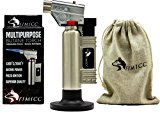 fimicc Culinary Torch and Cotton Bag - Creme Brulee - Professional Butane Cooking Torch with Two Types of Flames