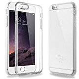iPhone 6s Plus Case Clear, ENDLER Absorption and Anti-Scratch Clear Back Flexible TPU Cover case for Apple iPhone 6s Plus and iPhone 6 Plus (Crystal Clear-with Air Pocket)