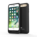 iPhone 7 Plus Battery Case, ZeroLemon 5000mAh Slim Juicer Portable Charger iPhone 7 Plus Charging Case - Black