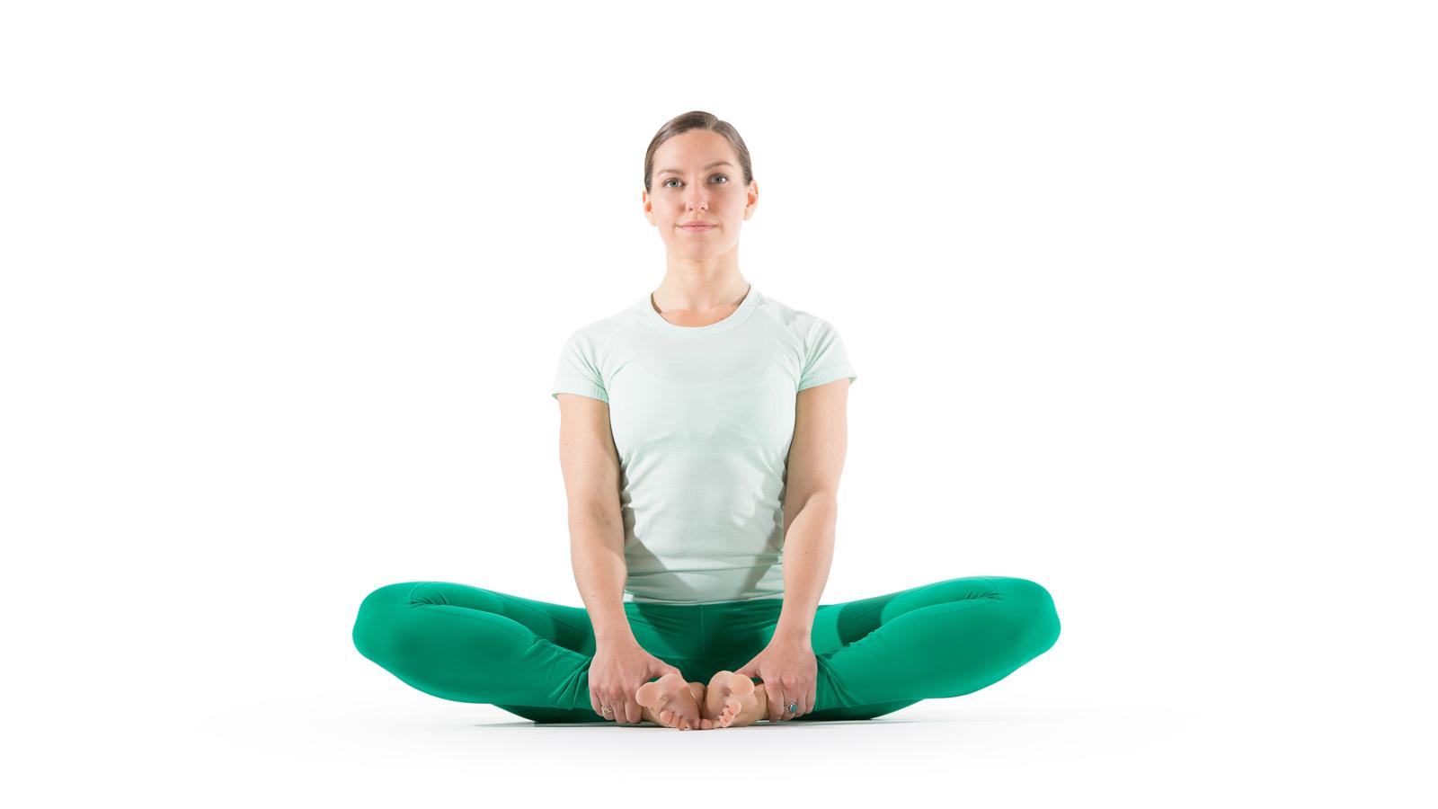 Bound Angle Pose Yoga International