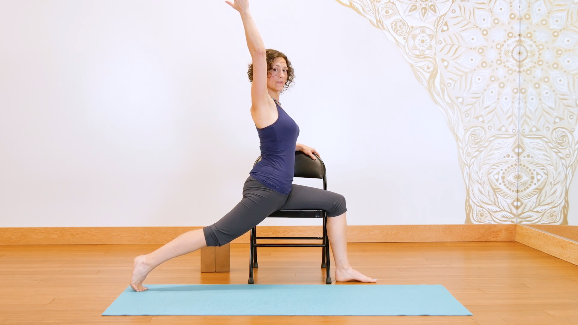 Never leave your chair yoga for everybody for Furniture yoga