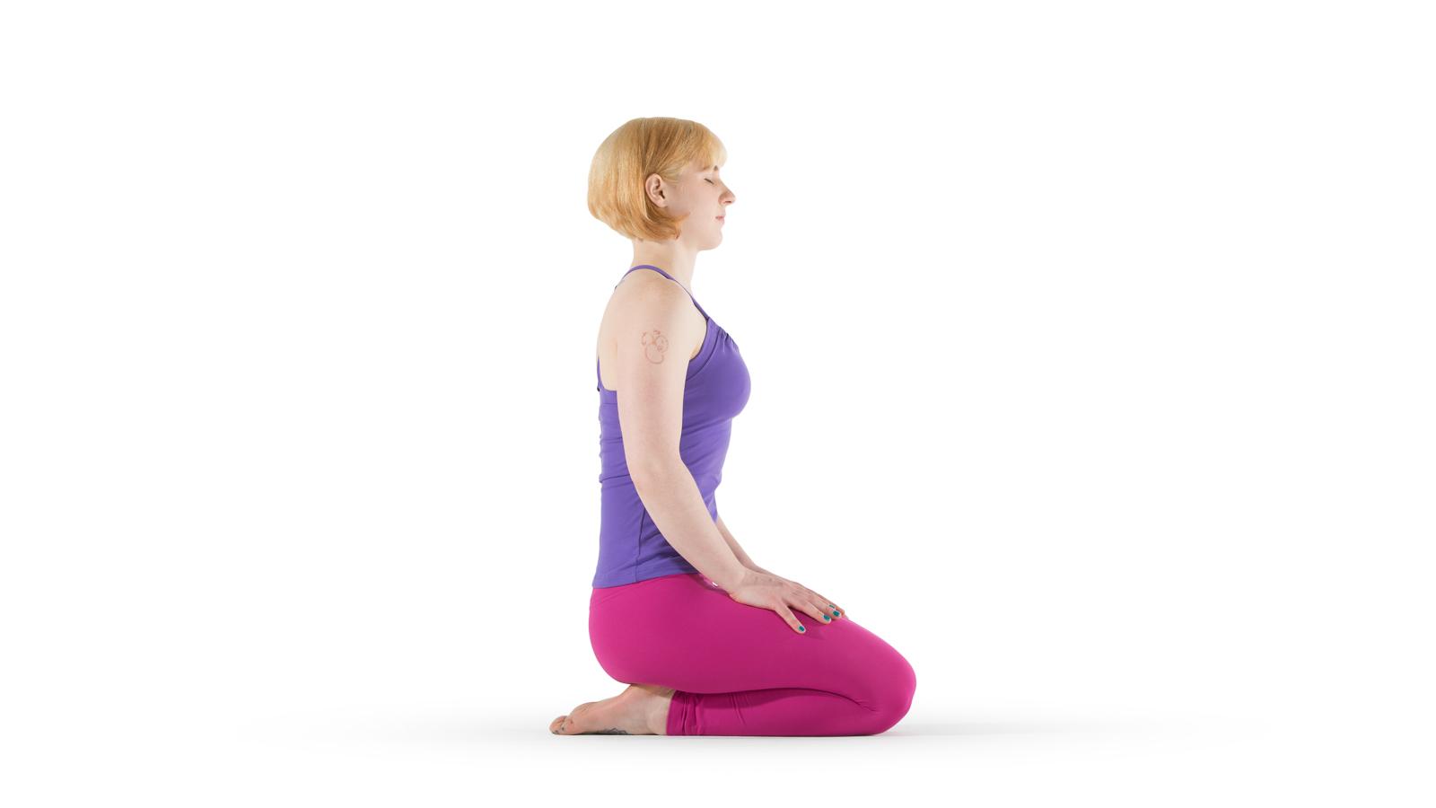 Thunderbolt Pose | Yoga International