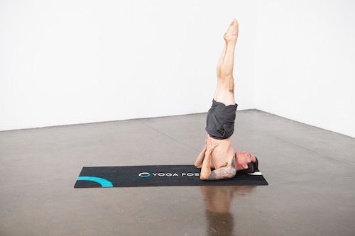 Supported Shoulderstand