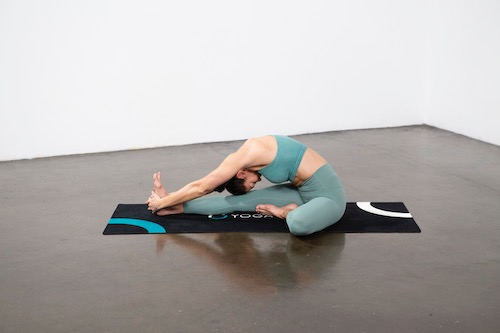 Head-to-Knee Forward Bend Pose