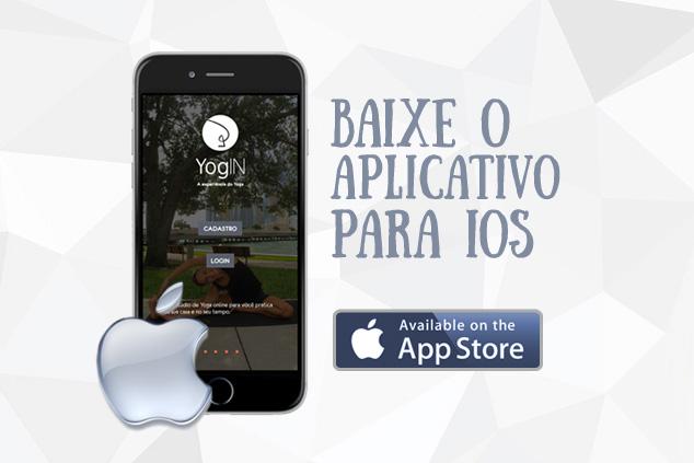 Aplicativo YogIN App IOS