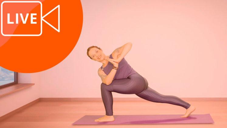 aulas de yoga gravadas