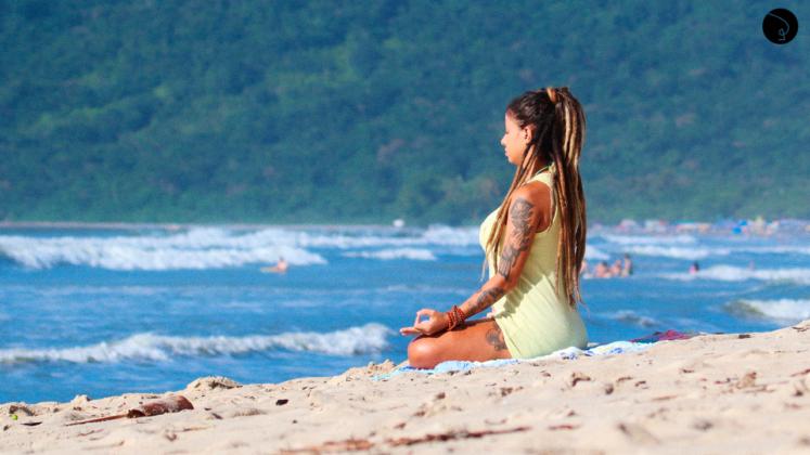 como se manter conectado yoga