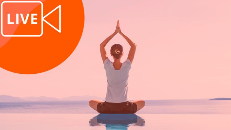 aulas ao vivo gravadas de yoga