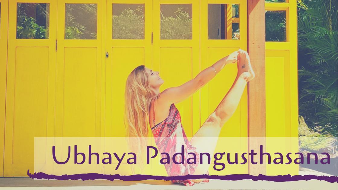 Ubhaya Padangusthasana
