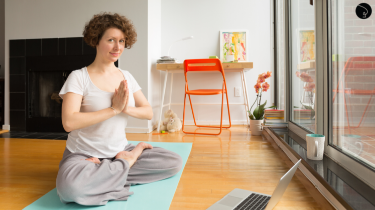 praticar yoga online