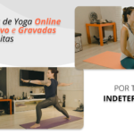 O yoga não vai parar - Aulas ao Vivo e gravadas todos os dias