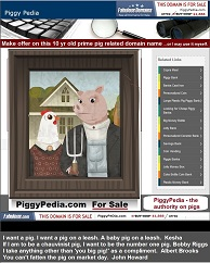 Piggypedia.com for sale