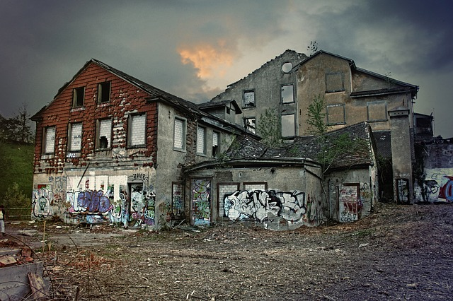 ruined homes