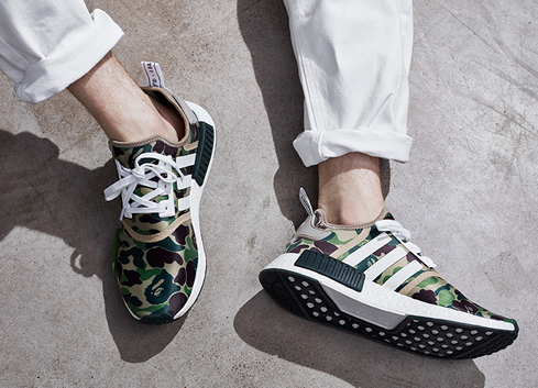huge discount 45d06 203cf The BAPE x adidas Originals NMD R1 Collabo is arriving next ...
