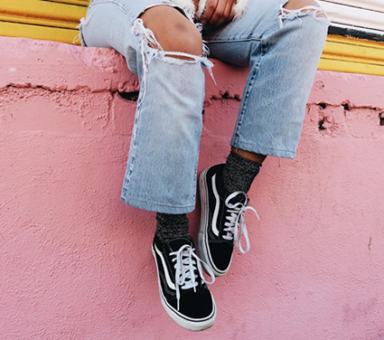 fashion with vans old skool